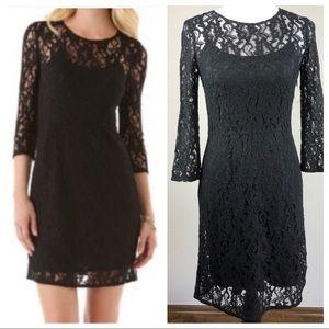 Madewell Broadway & Broome Black Lace Dress 2